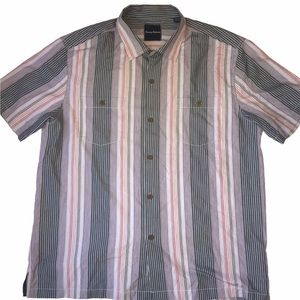 Tommy Bahama Men's Casual Button Front Shirt XL